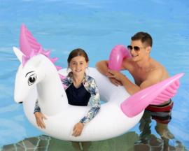 Opblaasbare Zwemband Mega Unicorn 151x171cm