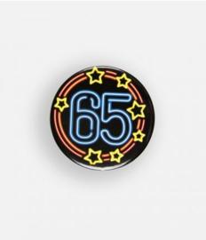 Neon button - 65