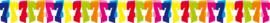 Slinger 7 jaar multicolor