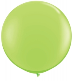 Ballon 90cm lime green qualatex
