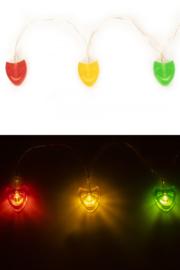 Lichtverlichting snoer maskers 12 lamps