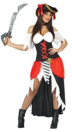 Pirate buccaneer jurk
