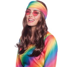 Hippie pruik hoofdband