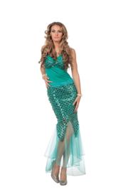 Zeemeermin jurk deluxe