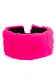 Bont hoofdband neon pink