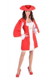 Musketiers jurk deluxe OP=OP