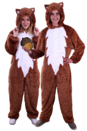Eekhoorn kostuum plushe