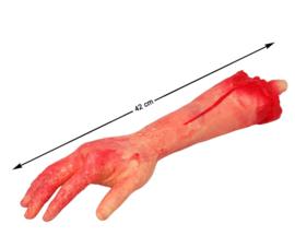 Bloody arm deco