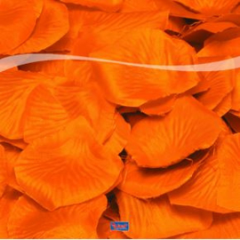 Oranje rozenblaadjes