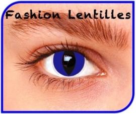 Party lenzen blauwe katten ogen