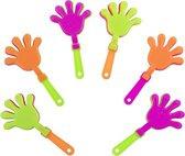 Minihandklappers 9,5 X 4,5 Cm 6 Stuks