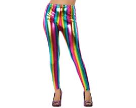 Regenboog legging | glans