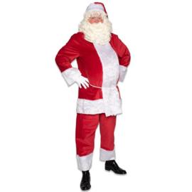 Kerstman pro polyester fluweel