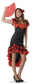 Spaanse dames jurk elegance