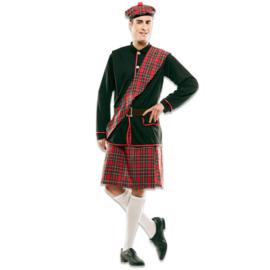 Schotse highlanders kostuum