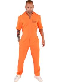 Prisoner kostuum boef