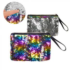 Handtasje regenboog switch | Pride