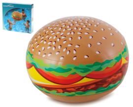 Opblaasbare bal hamburger 61cm