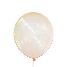 Bubbel ballonnen oranje 100 st.