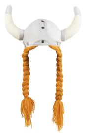 Viking helm met haar sigrid