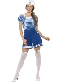 Retro sailor kostuum dames