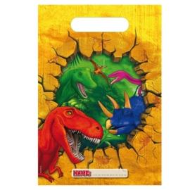 Uitdeelzakjes Dinosaurus