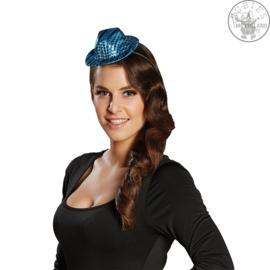 Freaky Hoedje met Led op haarband | Blauw