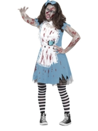 Alice in Wonderland zombie jurkje