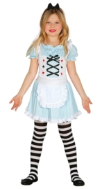 Alice in wonderland jurkje easy