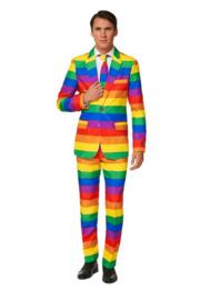 Rainbow suitmeister kostuum
