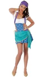 Sexy zigeunerin jurkje