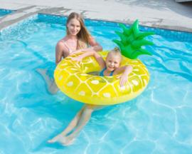 Opblaasbare Zwemband Ananas 102 cm