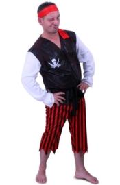 Piraten kostuum easy