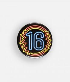 Neon button - 16
