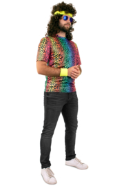 Neon panter T-shirt origineel