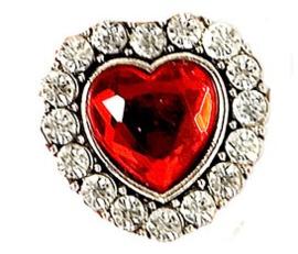 Ring middeleeuws goud met hart