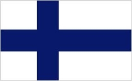 Vlag Finland 90x150cm