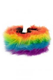 Bont hoofdband regenboog