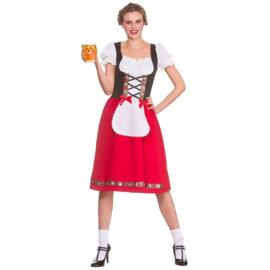 Tiroler jurkje Oostenrijk lang