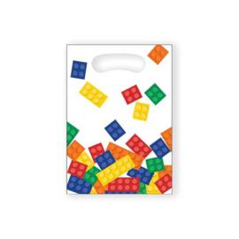 Bricks uitdeelzakjes 8 stuks