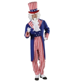 Uncle sam kostuum deluxe