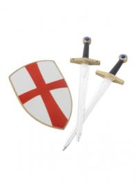 King arthur set zwaard en schild
