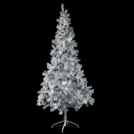 Kunst kerstboom zilver 210cm