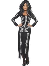 Skeleton jurk Chique