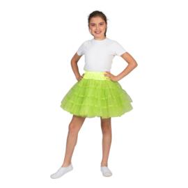 Petticoat meisje | glitter groen