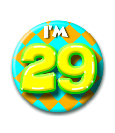 Button 29 jaar