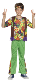 Woodstock hippie kids kostuum