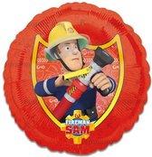 Folieballon brandweerman Sam (43cm)