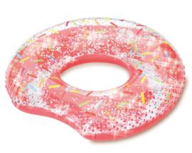 Opblaasbare Zwemband donut 114x108cm
