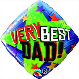Very Best Dad! folieballon